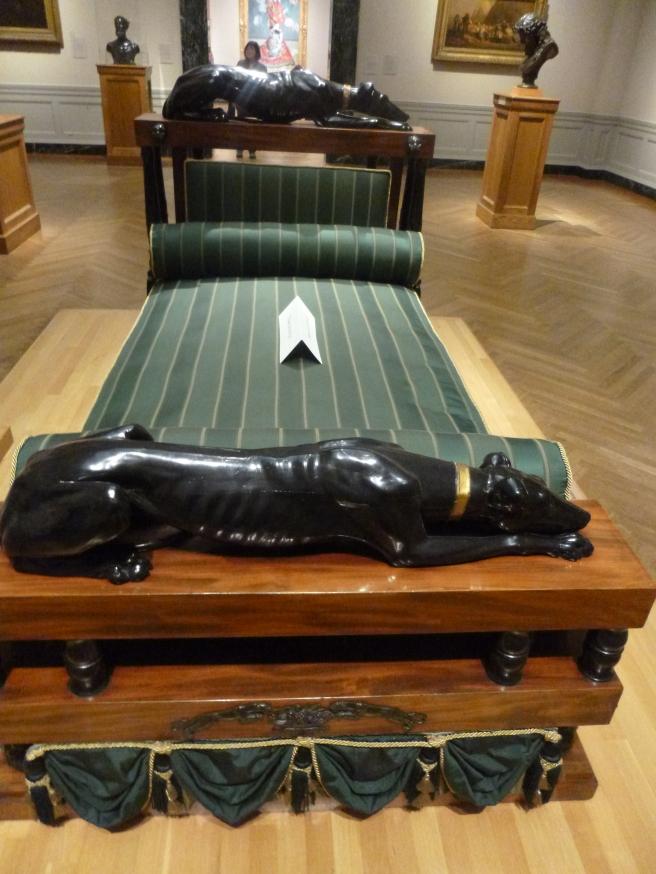 1800 English Regency Bed